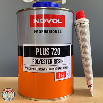 Смола полиэфирная Novol Plus 720, 1 кг