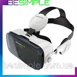 Очки виртуальной реальности VR BOX Z4 c наушниками + нож-визитка в Подарок