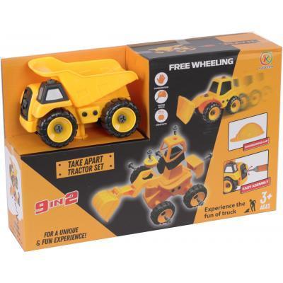 Конструктор Kaile Toys Будівельна техніка 9 в 1 (KL713-1)