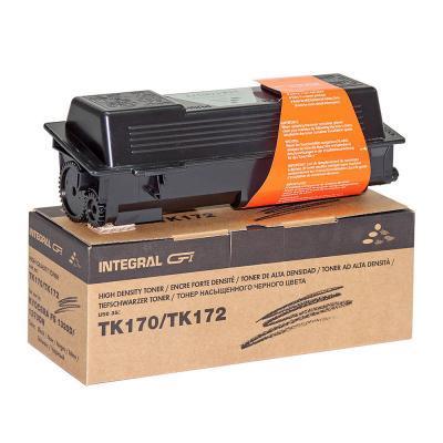 Тонер-картридж Integral Kyocera TK-170/TK172, without chip, Black 240г (12100054)