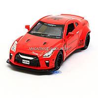 Машинка игровая автопром «Nissan GTR» Красная 7862, фото 1