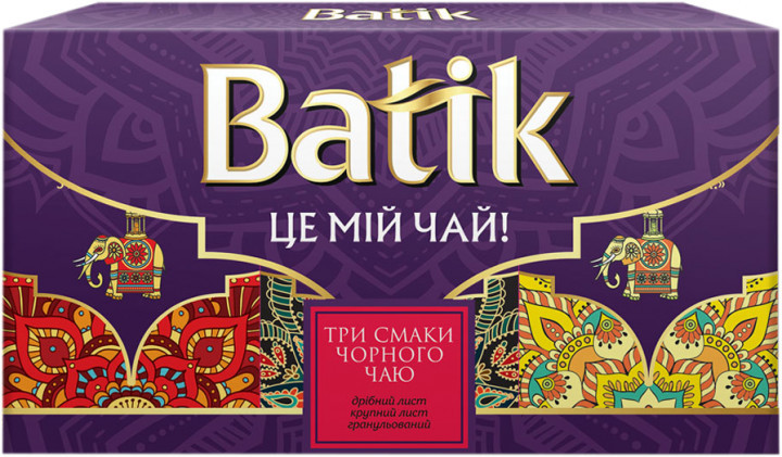 Подарочный набор чая Батик 3*50 грамм