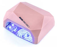 УФ/LED-CCFL лампа для сушки гель-лаков YRE Diamond 36 Вт (бежевая)