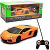 Машинка игровая автопром на радиоуправлении Lamborghini LP700 желтый (8809)