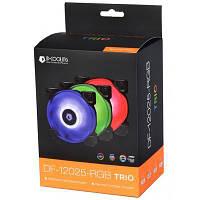 Кулер для корпусу ID-Cooling DF-12025-RGB Trio (3pcs Pack) (DF-12025-RGB Trio)