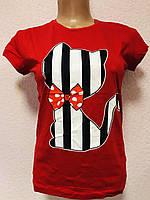 Женские футболки хлопок 100% Турция размеры S-XL (42-48) ростовка