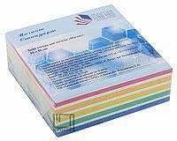 Папір для нотаток Мікс 85х85мм, 400 арк Магнат Стандарт, MS-0009 склеєний