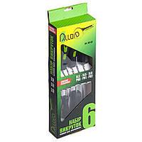 Alloid. Набор отверток шлиц и крест 6 предметов N (коробка) (НО-6КN)