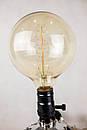 Настільна лампа Pride&Joy Industrial із авто запчастин та дерева, фото 3