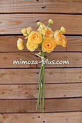 Искусственные цветы - Камелия пучок, 40 см