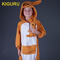 Детская пижама кигуруми кенгуру