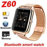 Умные Часы Телефон Smart Watch Z60. Оригинал, фото 10