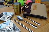 Туристический Набор Посуды TNR camping Набор Столовый для Пикника, фото 4