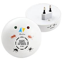Ультразвуковой Отпугиватель Грызунов (Крыс и Мышей) и Насекомых (муравьев, пауков, тараканов) ZF-830E
