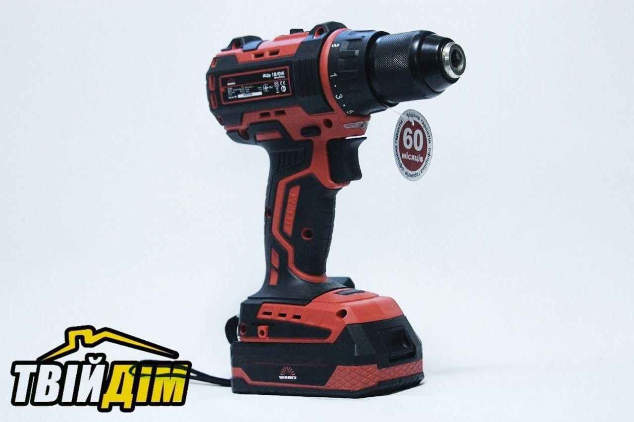 Акумуляторний шурупокрут Vitals Professional AUpd 18/2tli Brushless kit