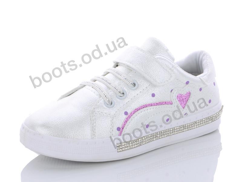 """Кроссовки  детские """"Y.Top"""" #HX2040-1. р-р 31-36. Цвет белый. Оптом"""