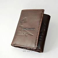 Levi's №7 Кожаный кошелек 3го сложения