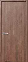 Двери межкомнатные Новый Стиль Колори Стандарт экошпон глухие 60 Ольха 3D