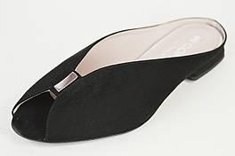Сабо черные замша Comart 3457 Италия 37-42 размеры