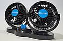 Вентилятор автомобильный от прикуривателя 12 вольт (две скорости), фото 7