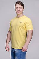 Футболка мужская желтая Avecs AV-30066 Размеры 46/S 48/M 56/3XL, фото 1