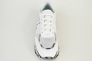 Кроссовки летние перфорированные Evromoda 4418 Белые 40,41,42 размеры, фото 3
