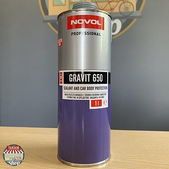 Засіб для захисту кузова і герметик Novol Gravit 650, 1 літр