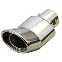 Насадка на глушитель НГ-0227, угол, внутр.d 58 мм/дл. 178мм/внеш. 104*76мм (НГ-0227)