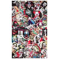 Наклейка  Pazzle Sticker Bomb Joker (300 х 500мм) (P-21)