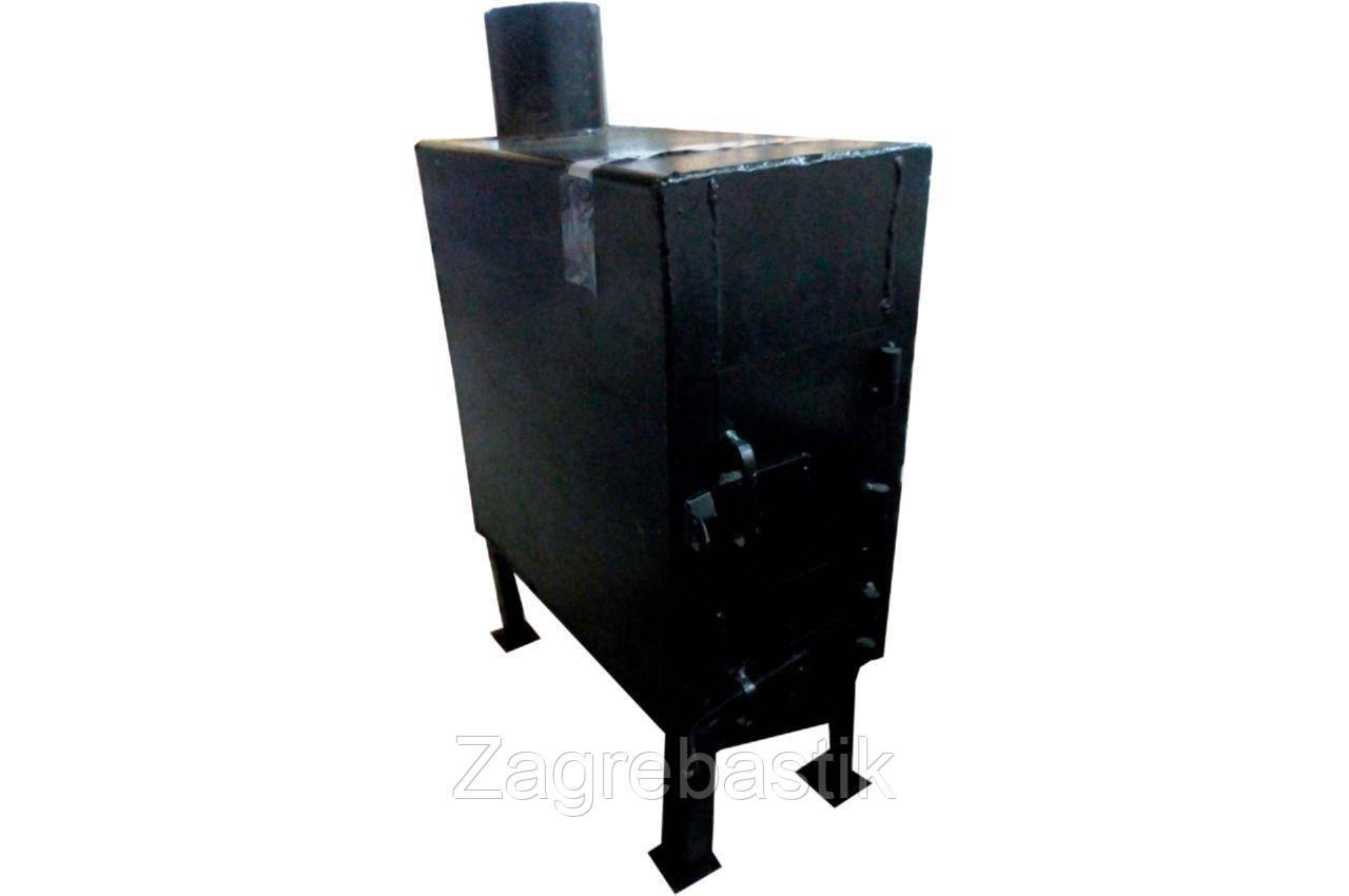 Печь буржуйка ТМЗ - 600 х 460 х 230 мм (3 мм)