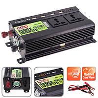 Преобраз. напряжения PULSO/IMU 420/12V-220V/400W/4USB-5VDC2.0A/LED/мод.волна/клеммы (IMU-420)
