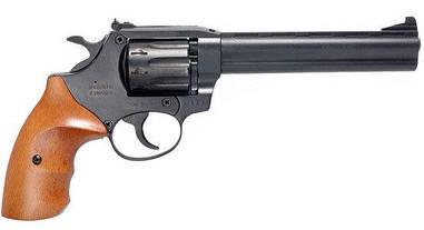 Револьвер под патрон флобера Safari РФ 461М с рукояткой из бука