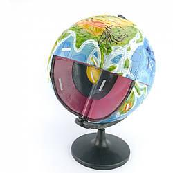 Глобус-модель «Будова Землі» (географія)