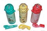 Детский термос из Пищевой Нержавеющей Стали Love 350 мл. Герметичный, Оснащен трубкой, фото 2