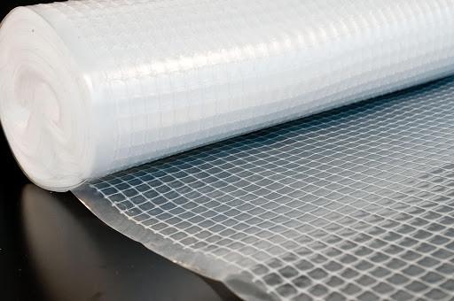 Покрівельна плівка Пароізоляційна Паробар'єр Армований Скловолокном Білий PR 1.50 м 50 м ( 75 м2 ) білий
