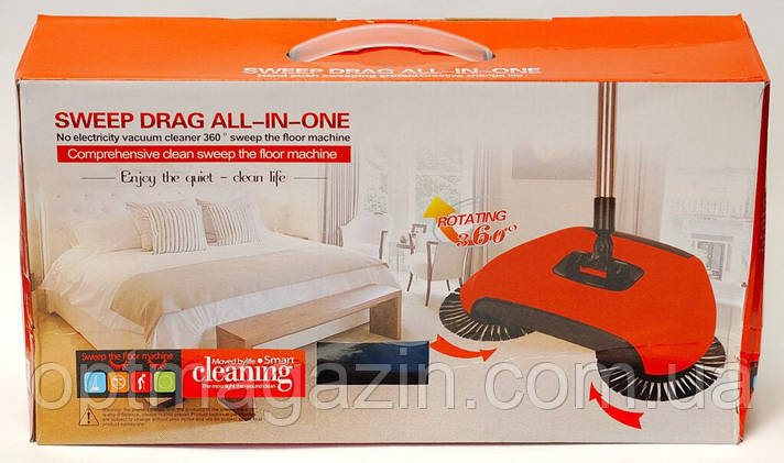 Віник для прибирання Sweep Drag All-in-One, фото 2