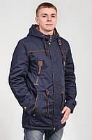 Парка куртка мужская синяя Avecs AV-70098 Размеры 2XL/54