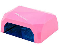 УФ/LED-CCFL лампа для сушки гель-лаков YRE Diamond 36 Вт (розовая)