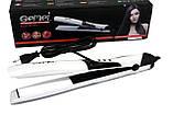 Выпрямитель Утюжок для волос Керамический Профессиональный Gemei GM-2917 60 Вт, фото 2