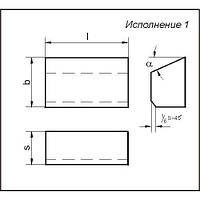 Пластина т/с 01371 ВК8 (22440)