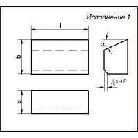 Пластина т/с 01431 ВК8 (7017)