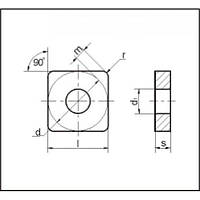Пластина т/с 03113(SNUA)-250724 В35(ВК8) (26291)