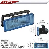 Фара дополнительная   DLAA 1070-RY/H3-12V-55W/147*58mm (LA 1070-RY)