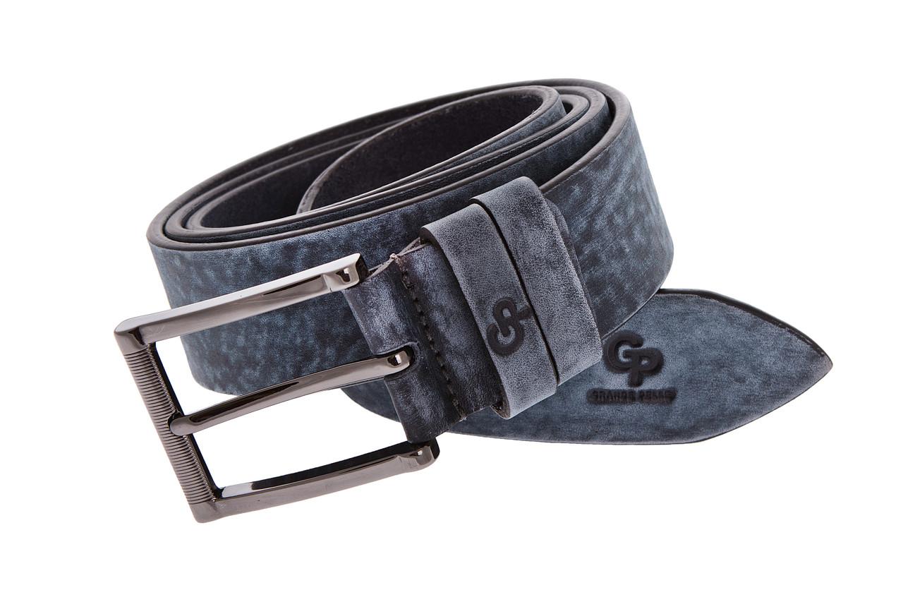 Кожаный ремень Blazer , классика на обычной пряжке, индиго