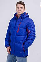 Куртка мужская зимняя синяя Avecs AV-7342507 Размеры 48 50 52 54