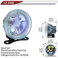Фара дополнительная  DLAA 2040-RY/H3-12V-55W/D=86mm (LA 2040-RY)