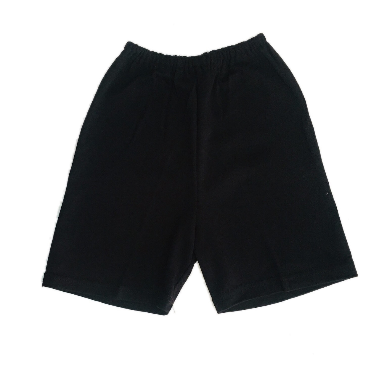 Детские шорты черные на физкультуру, 92см