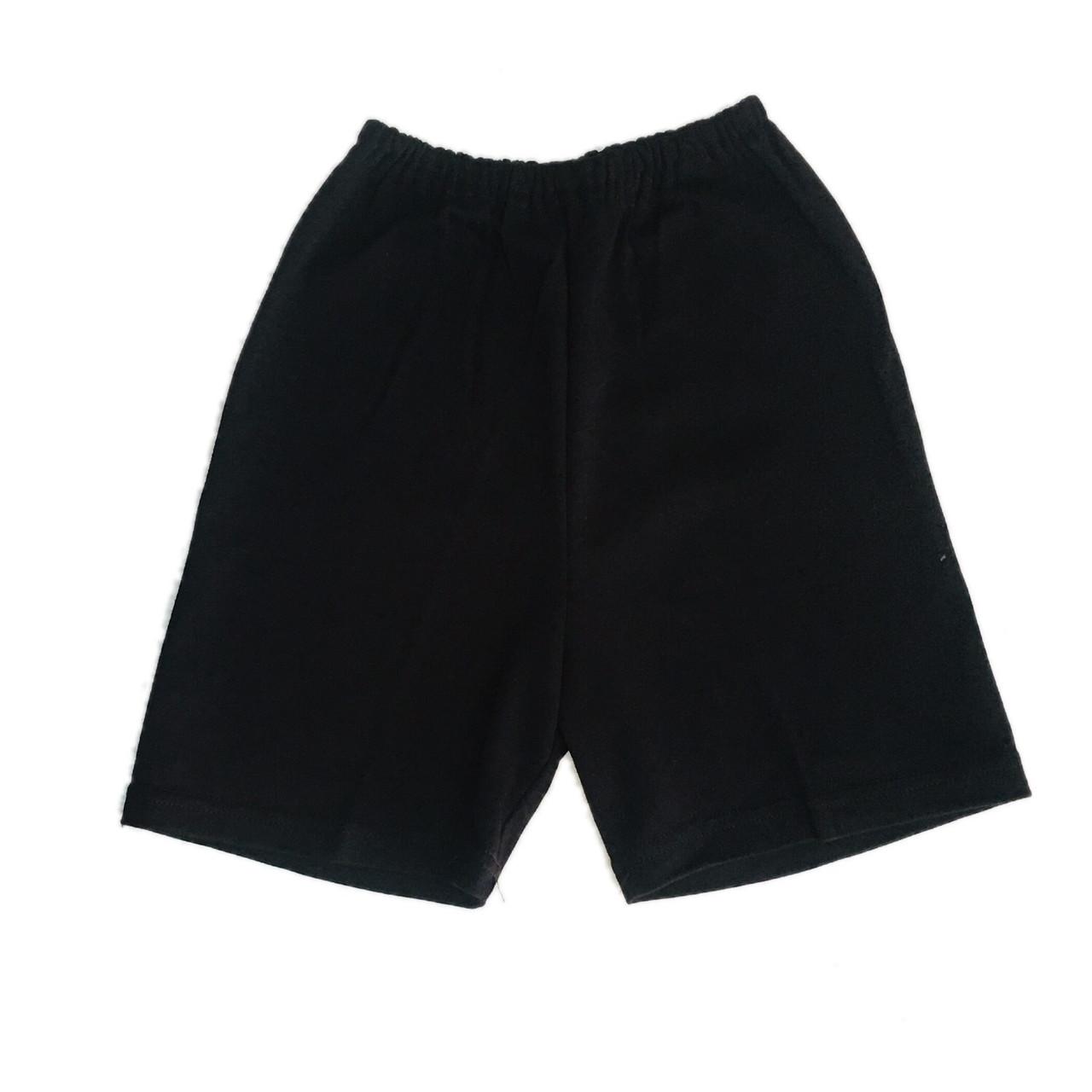Дитячі шорти чорні на фізкультуру, 98см