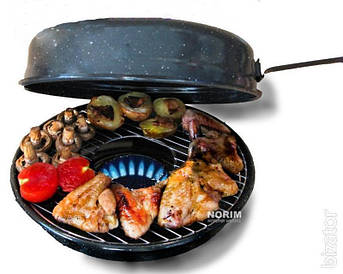 Сковорода гриль-газ противень Westorm