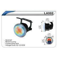 Фара дополнительная  DLAA  992-BL/H3-12V-55W/D=62mm (LA 992-BL)